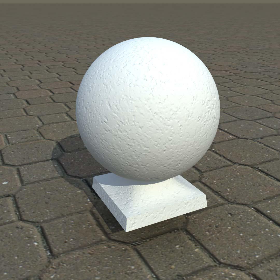 Шар из бетона для балюстрады 150 мм