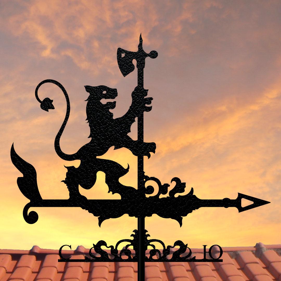 Флюгер «Геральдический лев»