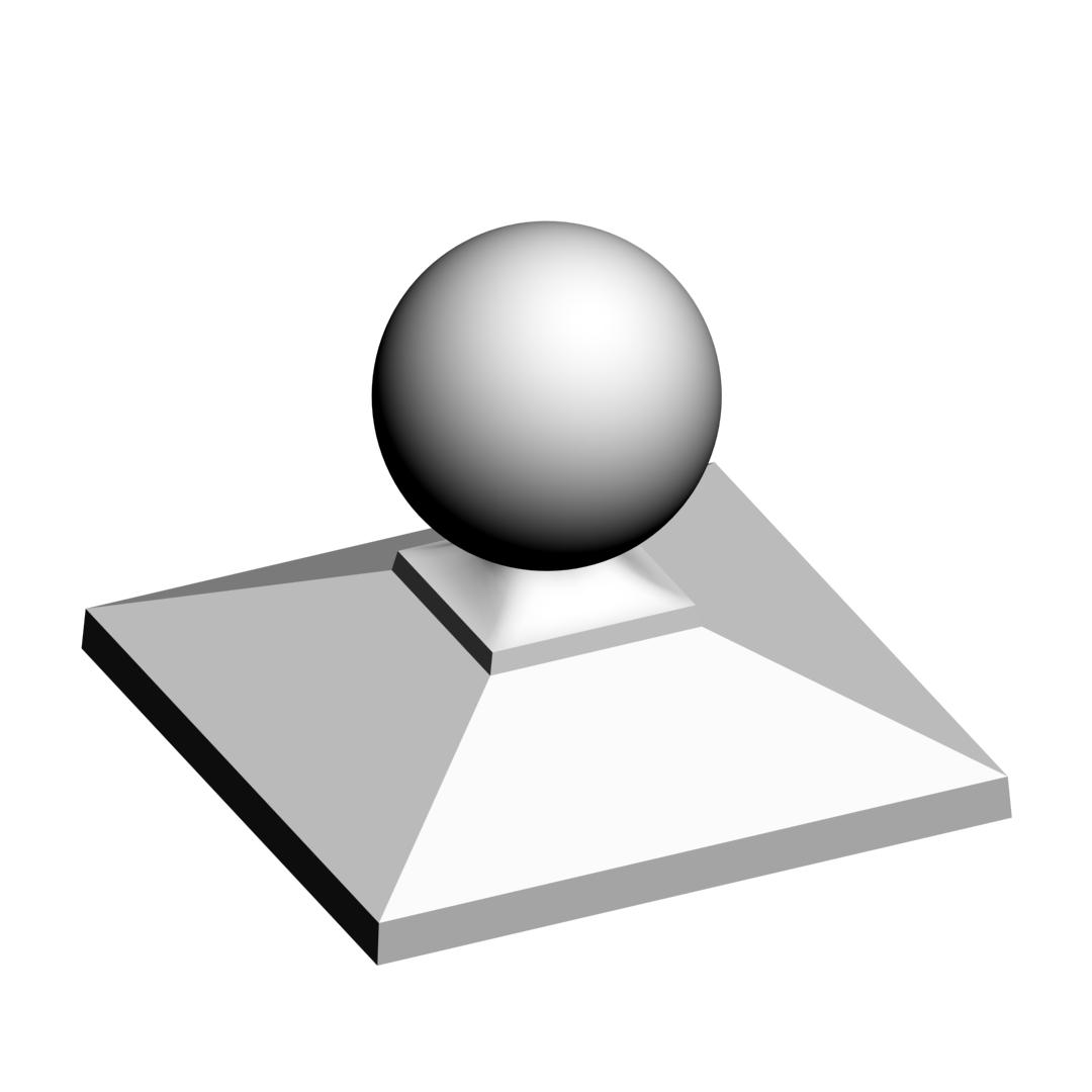 Колпак на забор пирамида 1,5×1,5 кирпича
