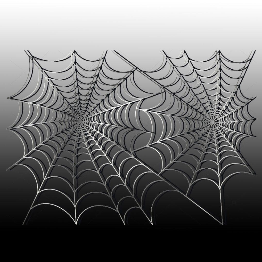 Панно из металла «Паутина» («Web»)