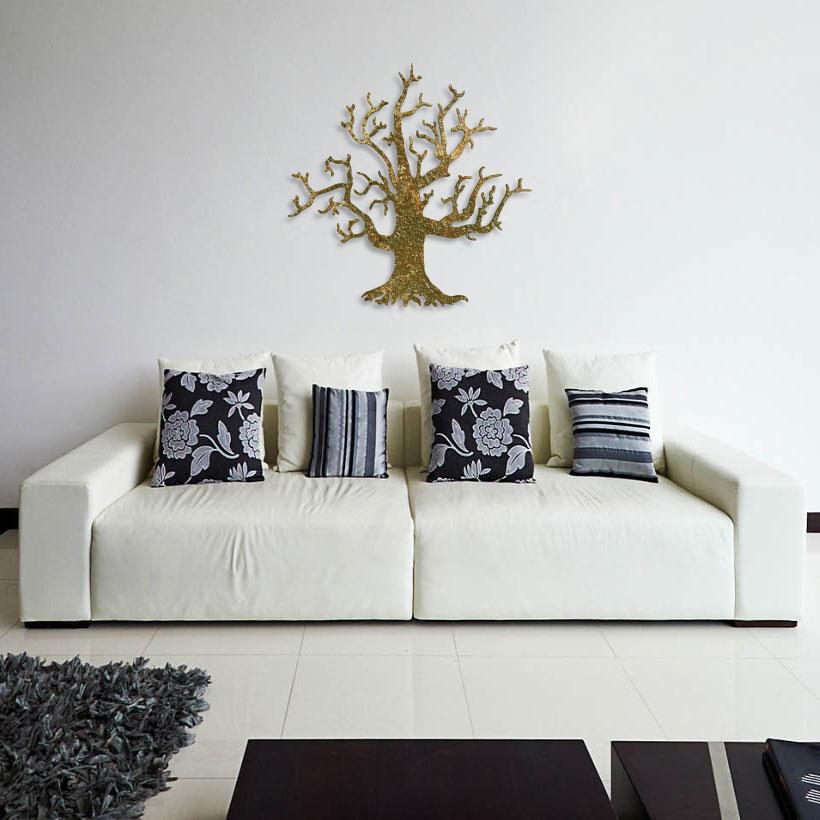 Панно 750×750 мм «Одинокое дерево» («Alone Tree»)