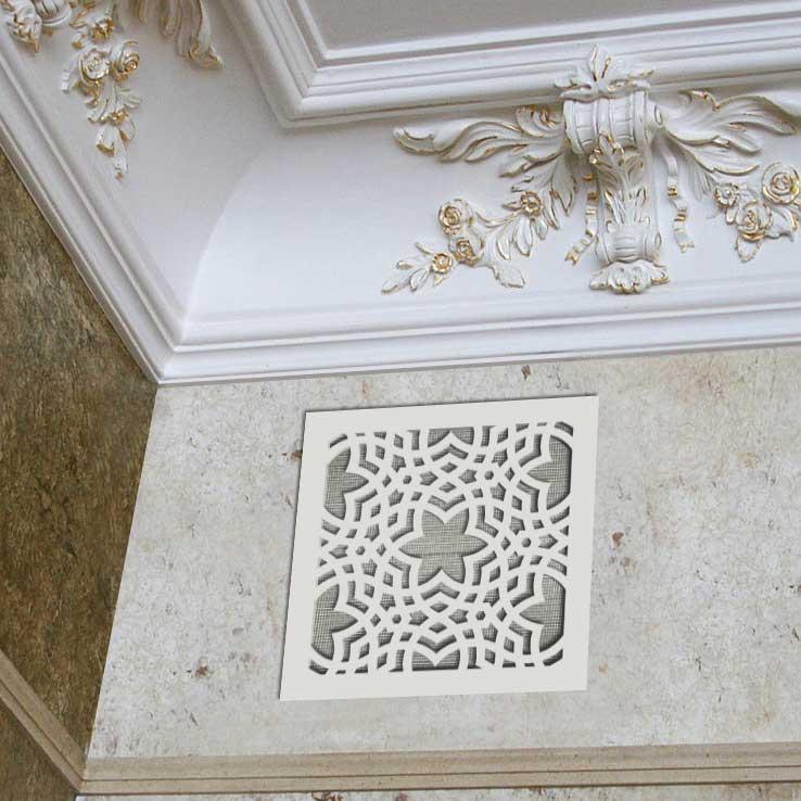Вентрешётка 150×150 мм «Арабский орнамент 01» («Arabian Pattern»)