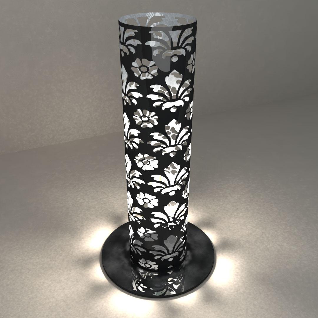 Светильник настольный «Цветочный цилиндр»